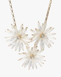 Ted Baker | Metallic Starburst Flower Necklace | Lyst