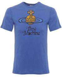Vivienne Westwood | Blue Time Machine Orb T-shirt for Men | Lyst