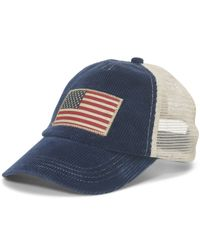 Polo Ralph Lauren | Blue Corduroy Trucker Hat for Men | Lyst
