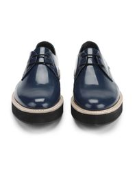 Surface To Air - Blue Men's Chunky Crepe Leather Shoes for Men - Lyst