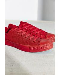 Converse | Red Chuck Taylor All Star Nylon Monotone Sneaker | Lyst