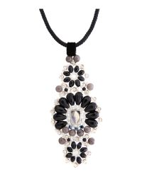 Weekend by Maxmara | White Blasy Long Jewelled Necklace | Lyst