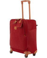 Bric's | Brics Life Four-wheel Cabin Trolley 54cm, Red | Lyst