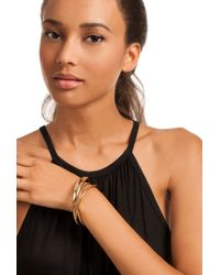 Trina Turk - Metallic Metal Upper Arm Bangle - Lyst