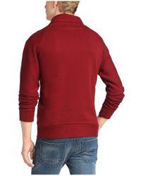 BOSS Orange | Red 'wawy' | Cotton Terry Sweatshirt for Men | Lyst