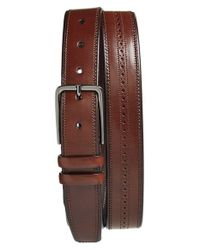 Mezlan - Brown 'parma' Belt for Men - Lyst