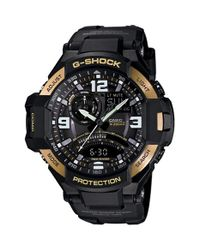 G-Shock - Black G-shock 'gravity Master' Digital Compass Resin Watch for Men - Lyst