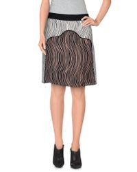 3.1 Phillip Lim | Black Knee Length Skirt | Lyst