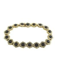 House of Harlow 1960 | Metallic Hexes Tennis Bracelet | Lyst