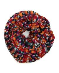 Michael Stars | Multicolor Multi Color Space Dye Eternity Scarf | Lyst