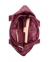 MZ Wallace | Purple Small Metro Tote - Ruby/Bordeaux | Lyst