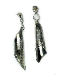 Sibilla G Jewelry - Metallic Sibilla G Artisan Cannolis Fashion Earrings - Lyst