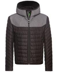BOSS Green | Black Outdoor Jacket 'jarmin' for Men | Lyst