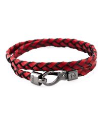 Tod's | Red 'My Colours' Bracelet | Lyst