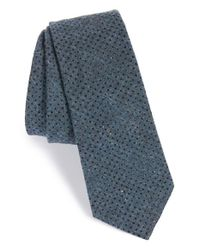 W.r.k. - Blue Dot Cotton Tie for Men - Lyst