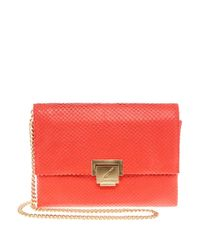 B Brian Atwood - Multicolor Jilly Leather Clutch - Lyst