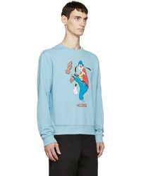 Loewe - Blue Goofy Disney Edition Pullover for Men - Lyst