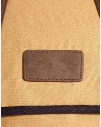 ASOS - Brown Tech Backpack for Men - Lyst