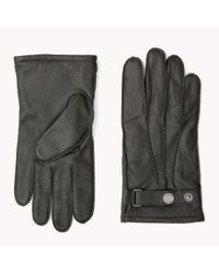 Tommy Hilfiger | Black Leather Gloves Gift Pack for Men | Lyst