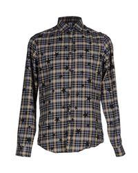 Etichetta 35 - Blue Shirt for Men - Lyst