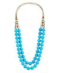 Aurelie Bidermann - Blue Lakotas Necklace - Lyst