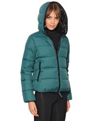Duvetica | Blue Thia Opaque Nylon Down Jacket | Lyst