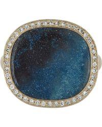 Monique Péan - Blue Diamond  Gilalite Ring - Lyst