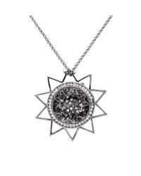 Nina - Metallic Petra Necklace - Lyst