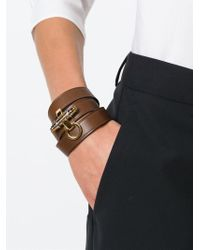 Givenchy - Brown 'obsedia' Bracelet - Lyst