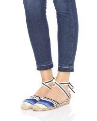 Soludos | Black X Lemlem Espadrille Sandals | Lyst