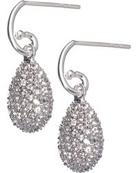 Links of London | Hope Egg White Topaz Earrings | Lyst