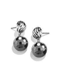 David Yurman | Metallic Dy Elements Drop Earrings | Lyst