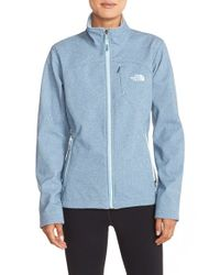 The North Face - Blue 'apex Bionic' Jacket - Lyst