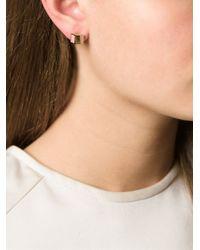 Fendi - Pink 'The Sta' Earrings - Lyst