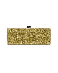 Edie Parker | Gold 'flavia Solid' Clutch | Lyst