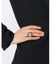 Rosa Maria | Metallic 'Verone' Ring | Lyst