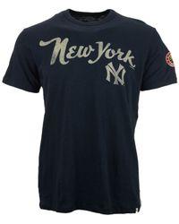 47 Brand - Blue Men'S Short-Sleeve New York Yankees 1914 T-Shirt for Men - Lyst