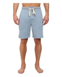 Original Penguin | Blue Comfortable Soft Knit Sleep Shorts for Men | Lyst