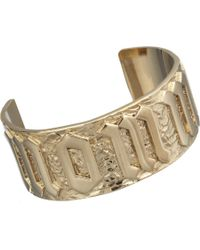 Jennifer Fisher | Metallic Brass Momma Cuff for Men | Lyst