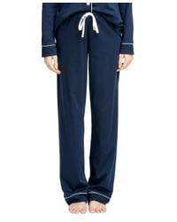 Brooks Brothers - Pink Cotton Pajama Set - Lyst
