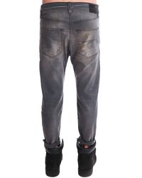 R13 | Gray Drop Jean | Lyst