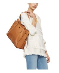 Tory Burch - Brown Brody Leather Tote - Lyst