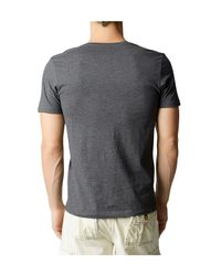 True Religion | Gray Mens Vneck Tee for Men | Lyst