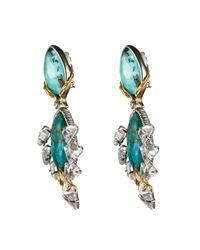 Alexis Bittar - Blue Olmeca Grand Clip Drop Earring - Lyst