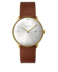 Junghans - Brown Calfskin Max Bill Automatic Watch for Men - Lyst