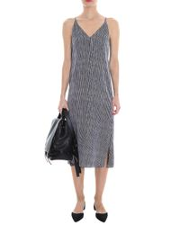 Theory - Multicolor Olina Dress - Lyst