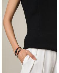 Gas Bijoux | Multicolor Beaded Multi-strap Bracelet | Lyst