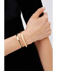 Forever 21 | Metallic Geo Bracelet And Ring Set | Lyst