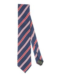 Pedro Del Hierro Madrid - Blue Tie for Men - Lyst