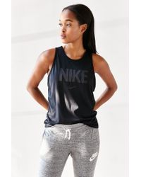 Nike | Black Tomboy Graphic Tank Top | Lyst